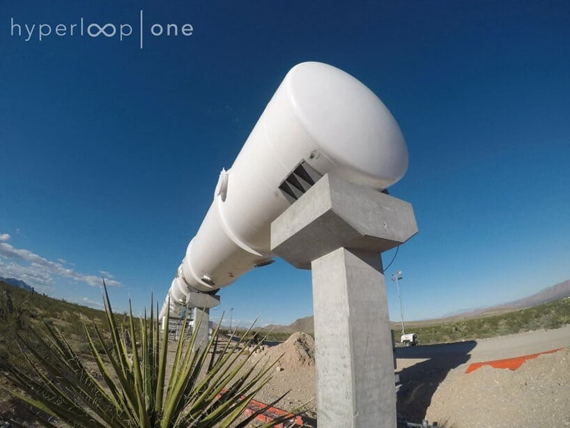 hyperloop fy 3 - Hyperloop One Launches Prototype in First Full-Scale test