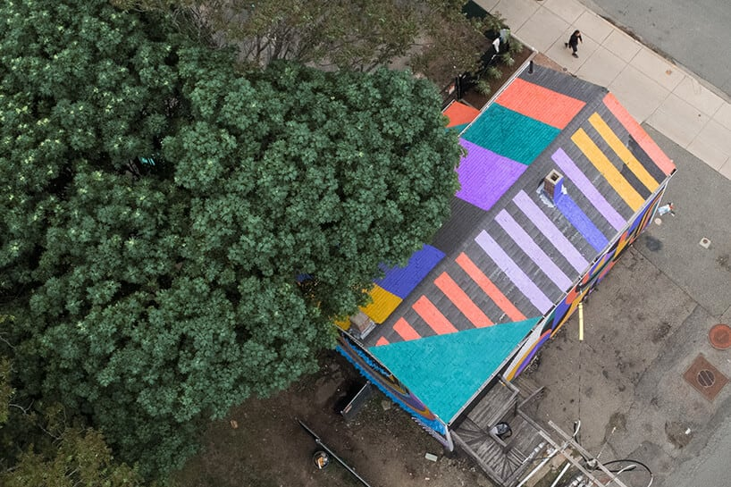 Artistic Duo Transformed an Abandoned Boston Building into a Vigorous Landmark -