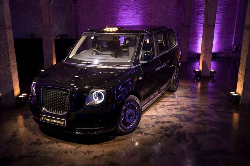 London Taxi Company changed into 'LEVC', and unveiled its new design for TX Electric Taxi -london, car
