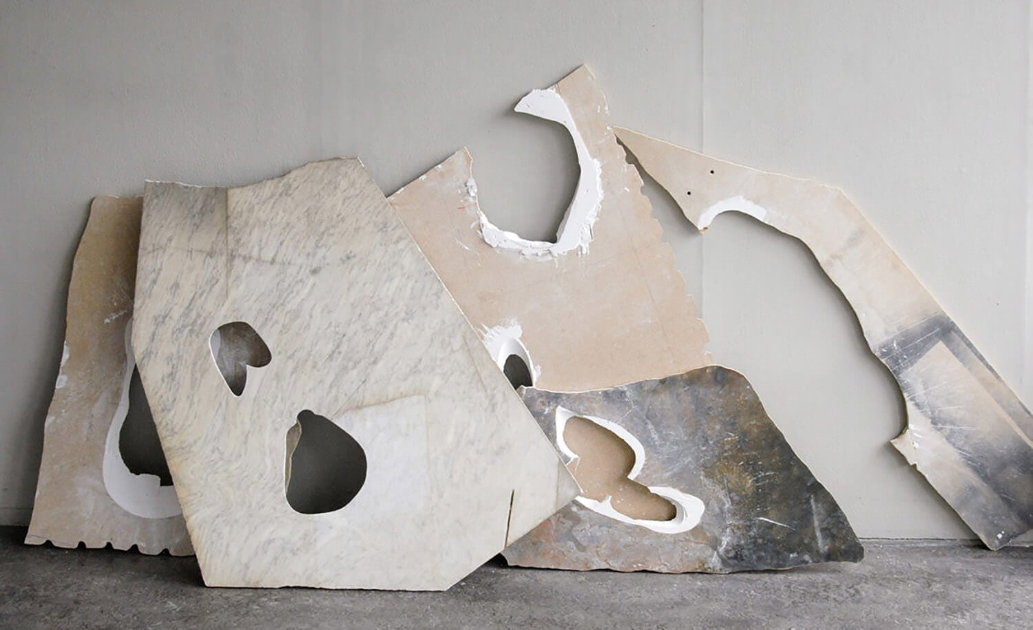 milena naef fleeting parts fy 3 - This Artist Uses Her Body To Create These Marble Installations