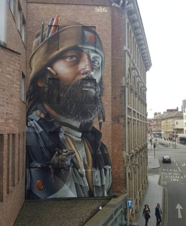 Smug One's Urban Murals Decorate Walls Around the Earth -murals