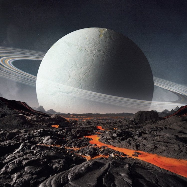 This Artist Handcrafts Small Planets to Capture Genuinely Lifelike Scenes -