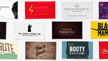 Real Life Business Cards Of Your Favorite Pop Culture Characters -