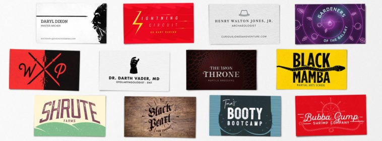 pop culture business cards hero 758x281 - Real Life Business Cards Of Your Favorite Pop Culture Characters