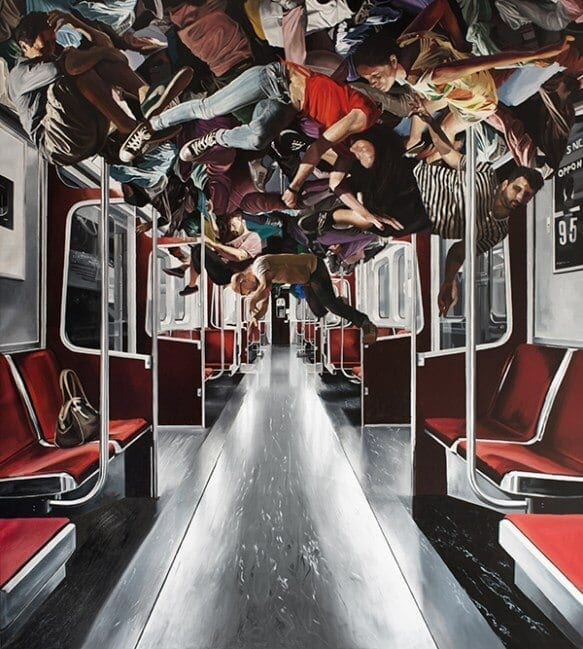 Hybrid Reality: Abstract Oil Paintings by Salvatore Alessi -