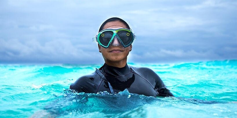 snapchat underwater goggles fy 4 - The 'Seaseekers' Mask Lets You Use Snapchat from Underwater