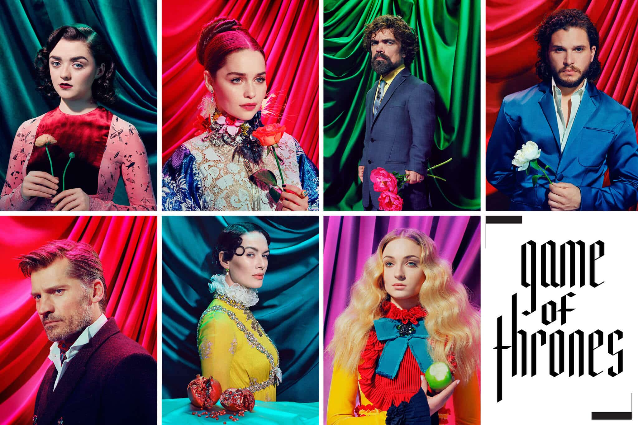 Game Of Thrones Cast Looking Totally Psychedelic in TIME Magazine's Photo-session -