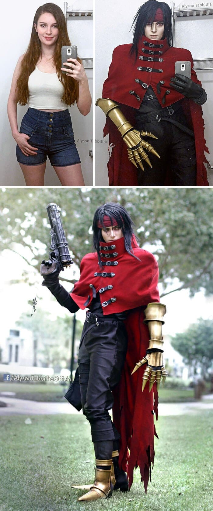 video game anime cosplay alyson tabbitha fy 7 - This Cosplayer Does a Great Job At Transforming Herself Into Literally Anyone