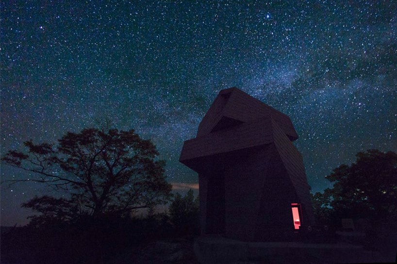 Astronomical Gemma Observatory by Anmahian Winton Architects -house, architecture photography, architects