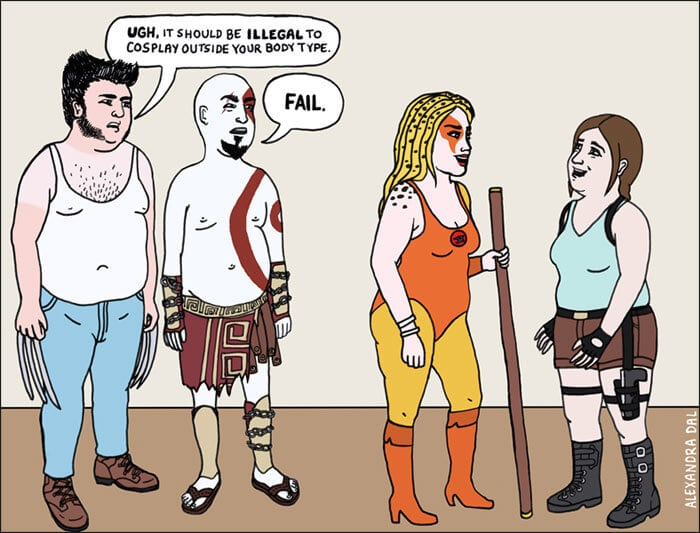 Our Society's Double Standards Illustrated These Comics -comics