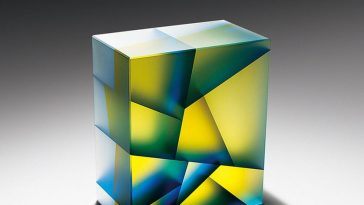Jiyong Lee's Cell Division Inspired Glass Sculptures -sculptures, glass