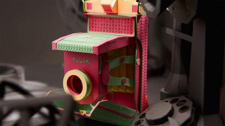 Lee Ji-Hee Creates Old Film Cameras From Colored Paper -sculpture, paper, gohome, cameras