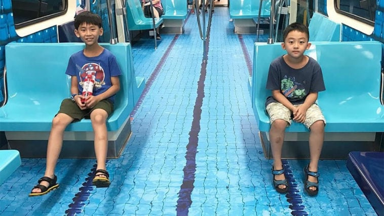 public transit taiwan fy 9 758x426 - Taipei Transforms Public Transport to Imitate Sporting Venues for 2017 Summer Universiade