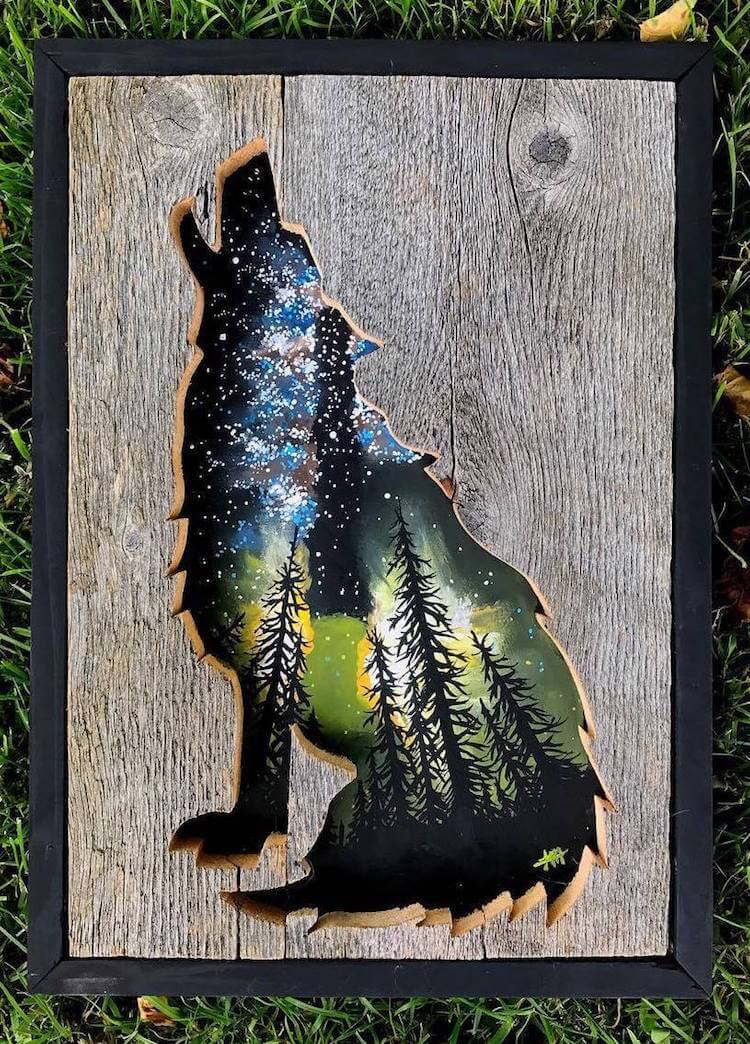 Woodensense Carves Beautiful Nature Inspired Wood Frames