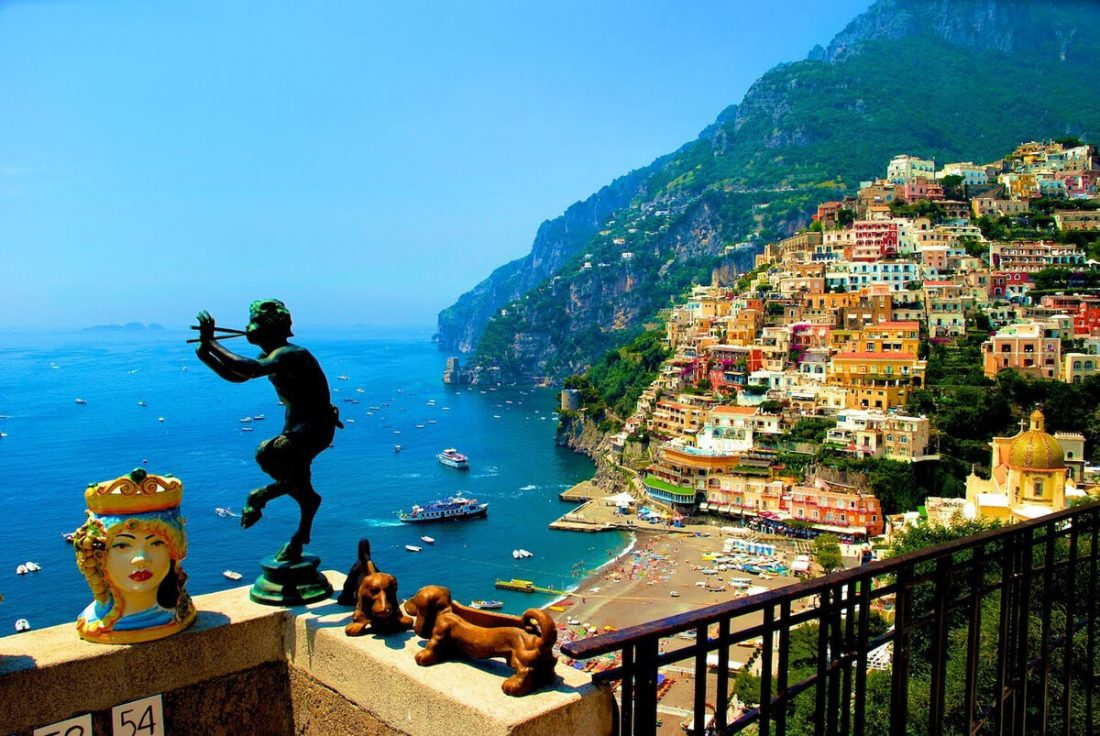 amalfi coast 04 1100x736 - 25 Most Breathtaking Places in the World That You Must Visit Soon