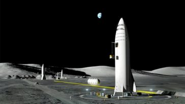 Elon Musk Revealed SpaceX's Moon base and His Grand Plans for Mars City -spaceship, space, moon, gohome, elon musk