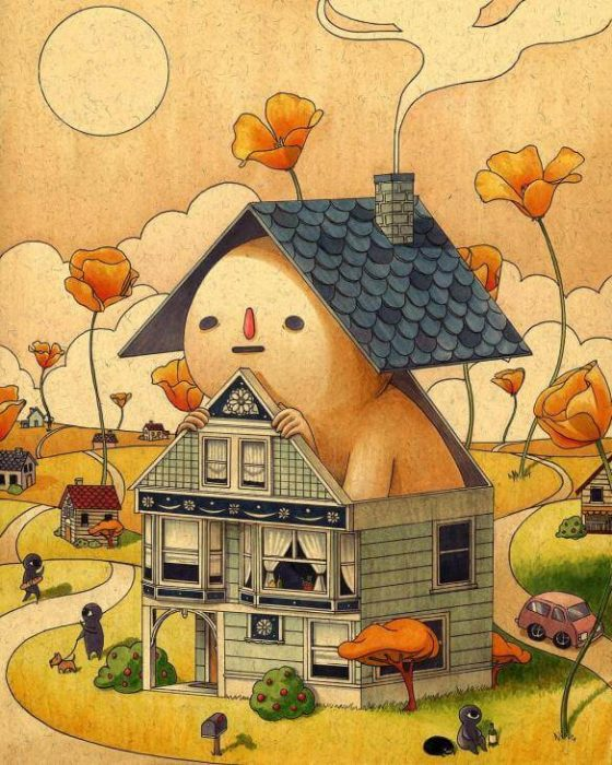 Felicia Chiao's Lively Illustrations of Imaginary World -illustrations