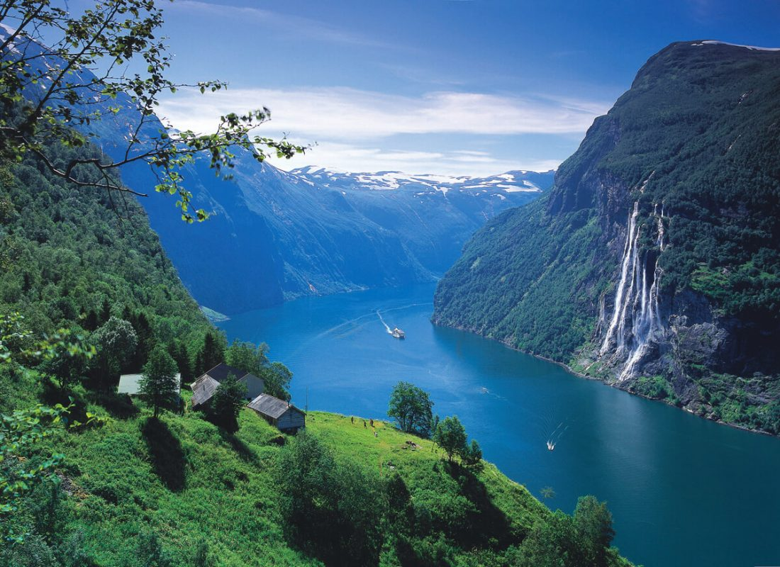 geiranger fjord 01 1100x800 - 25 Most Breathtaking Places in the World That You Must Visit Soon