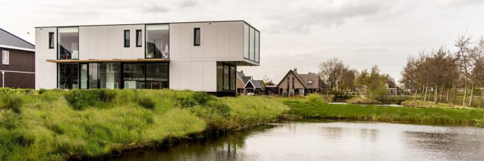 Contemporary Villa From Wood And Metal by Lautenbag Architectuur -house