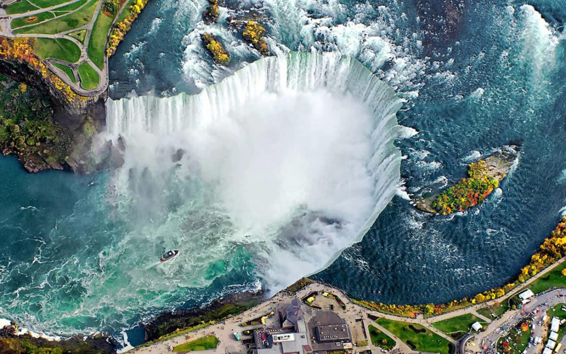 niagara falls 02 1100x688 - 25 Most Breathtaking Places in the World That You Must Visit Soon