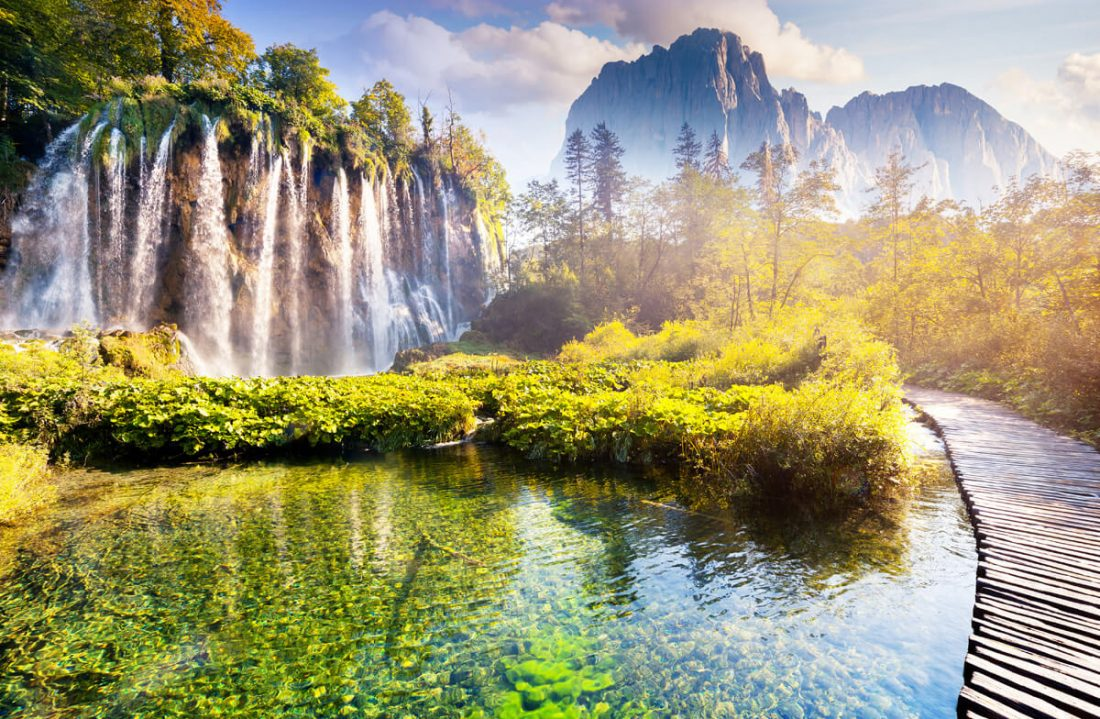 plitvice lakes 02 1100x719 - 25 Most Breathtaking Places in the World That You Must Visit Soon