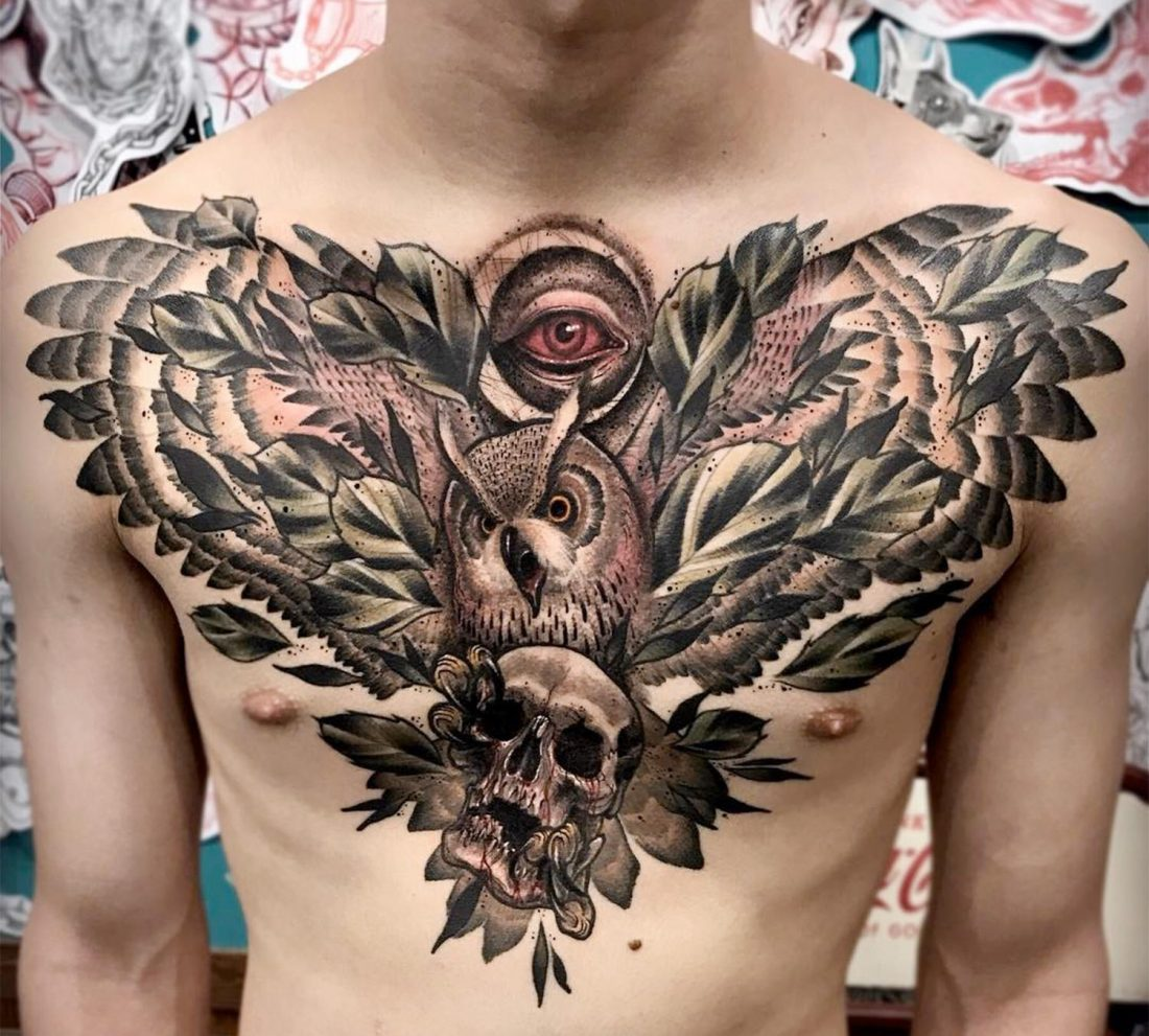 10 Fearless Tattoo Artists From South Korea -tattoos, tattoo art, tattoo, North Korea, gohome