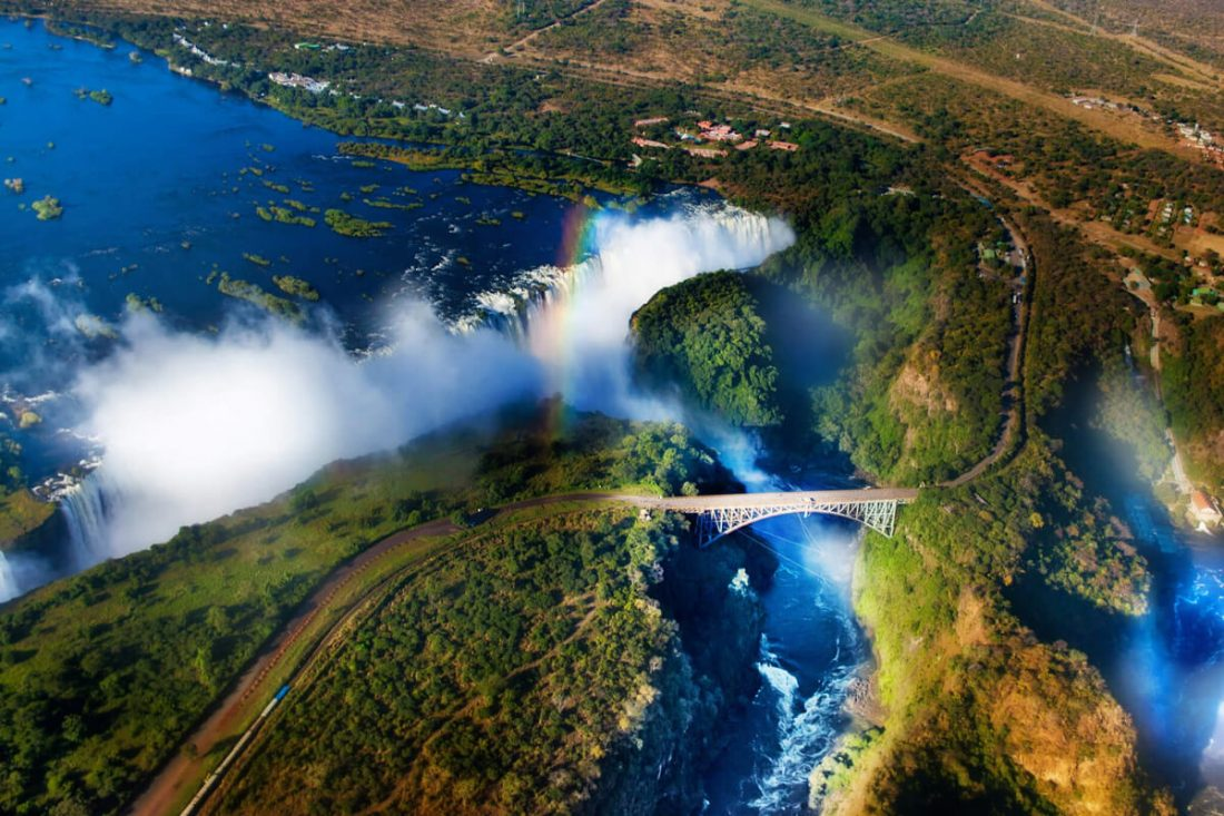 victoria falls 01 1100x733 - 25 Most Breathtaking Places in the World That You Must Visit Soon