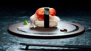 French Duo Imagines Human Bodies as Sushi -sushi, Photoshop, human
