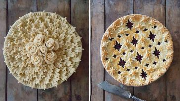 Incredibly Detailed Pies by  Karin Pfeiff Boschek -pie, Instagram, food photographer, food art