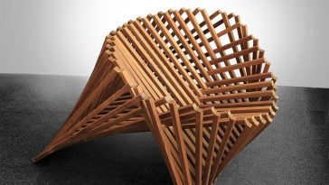 Dutch Designer Built Rising Chair Inspired by Nature -gohome, furniture
