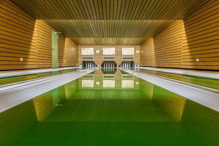 Photographer Robert Götzfried Captures Bowling Alley Design in Southern Germany -gohome, germany, german, bowling