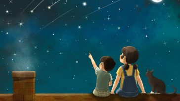 Korean Artist Illustrates Her Memories from Her Childhood With A Sister -illustrations, gohome
