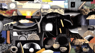 Animated Paper Collage by Jake Fried -Video, paper