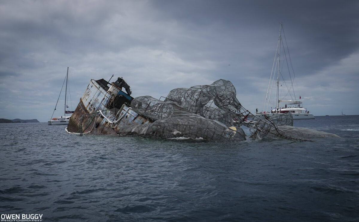 This Massive 80-Foot Kraken Sculpture Will Serve as an Artificial Coral Reef -sculpture, ocean