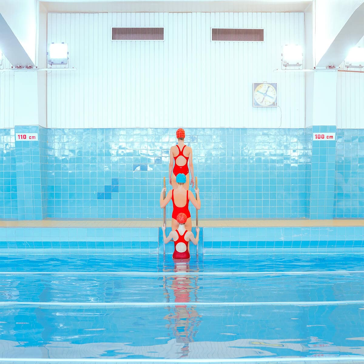 OCD Pleasing Images Captured by Maria Svarbova in Soviet Era Swimming Pools -gohome