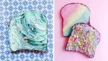 Mermaid Toast Is The Best Healthy Treat To Kickstart Your Day -colorful