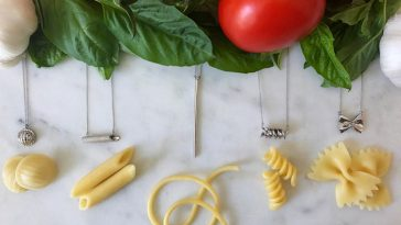 Al Dente: Pasta-Inspired Silver Jewelry That Helps Feed the Hungry -pasta