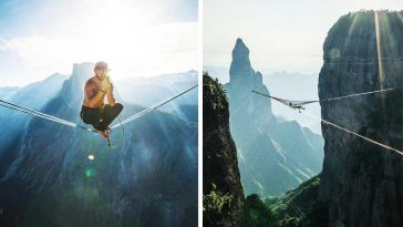 Stunning Images Of Daredevils That Will Take Your Breath Away -nature, gohome, adventure