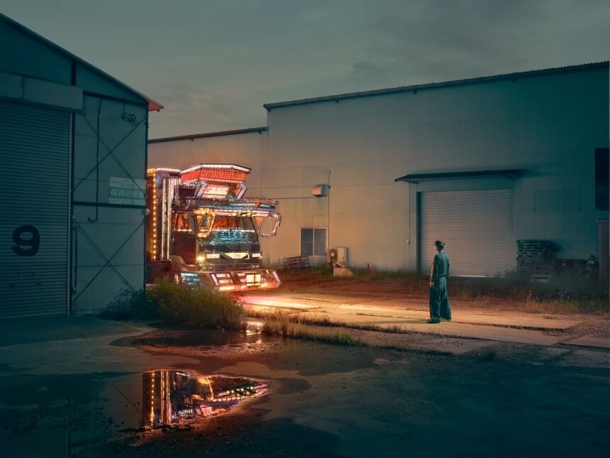 Photographer Todd Antony Features Japanese Decorate Truck In His New Series -japan