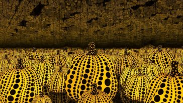 02 Yayoi Kusama Pumpkins 364x205 - New Book Explores the Extravagant World of Yayoi Kusama