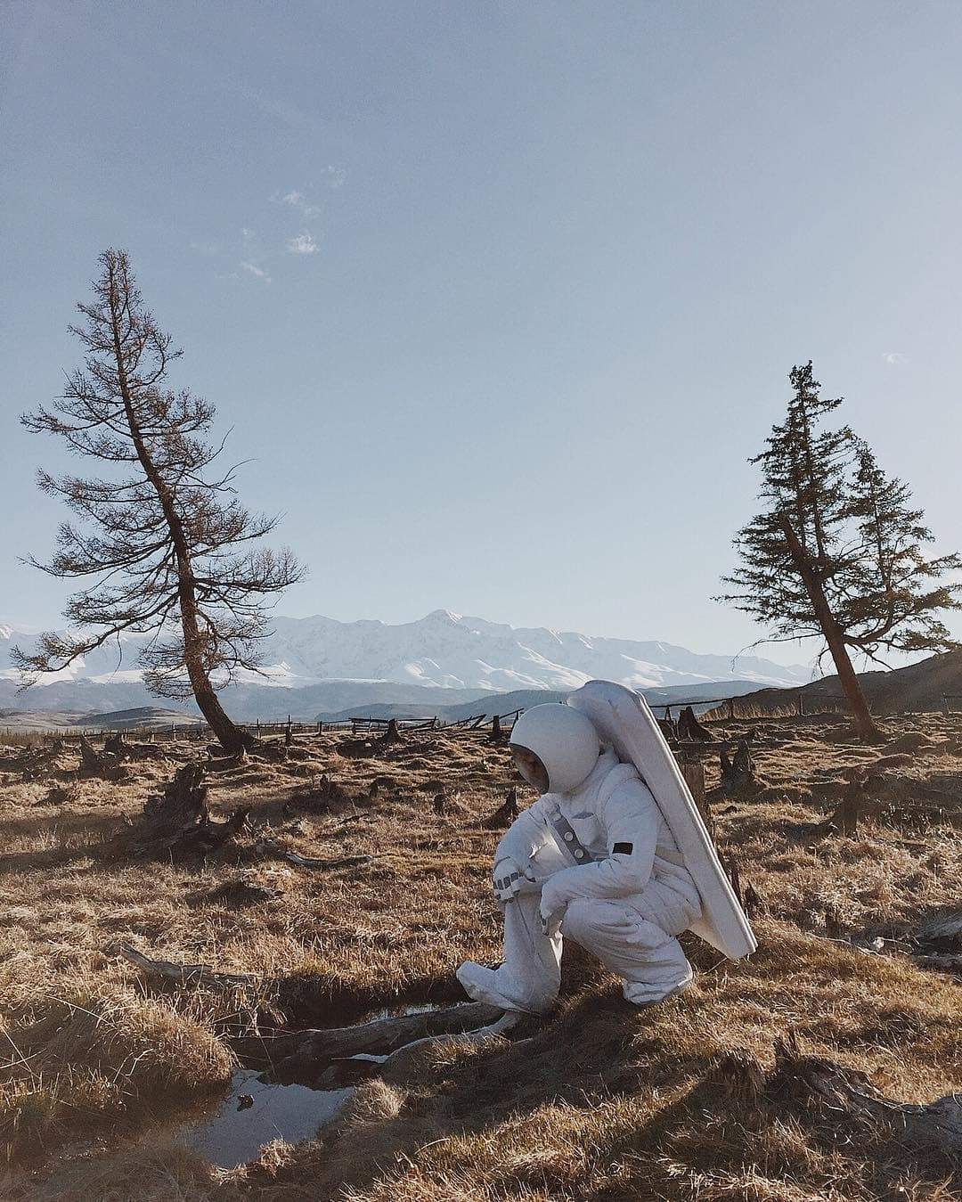 Russian Photographer Brings Space Down To Earth While Raise Awareness About The Environment -space, photographer, photo-project, landscapes, gohome