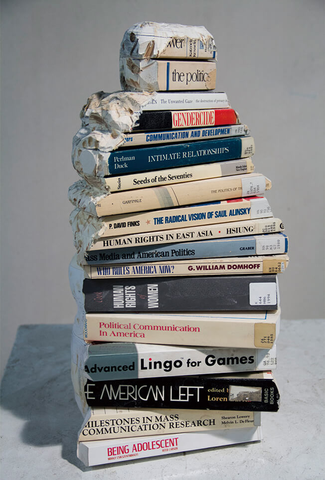 Long-Bin Chen Creates Unbelievable Sculptures From Old Books -sculptures, paper, gohome, books