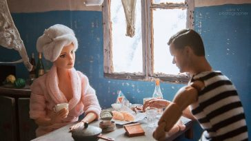A Russian Photographer Recreated Barbie And Ken As if They Lived in the Soviet Union -toys, photo-project