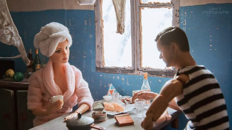 barbie ken slavs fy 9 758x426 - A Russian Photographer Recreated Barbie And Ken As if They Lived in the Soviet Union