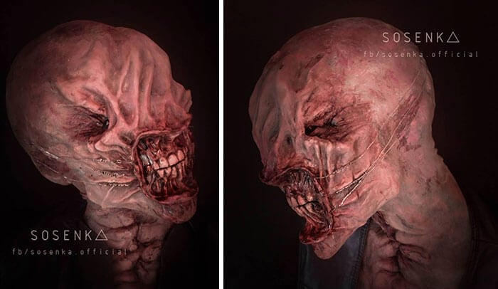 cosplay sfx makeup sosenka fy 1 - This Self-Taught Polish Cosplayer Can Transform Herself Into Literally Anyone