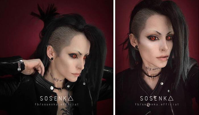 cosplay sfx makeup sosenka fy 6 - This Self-Taught Polish Cosplayer Can Transform Herself Into Literally Anyone