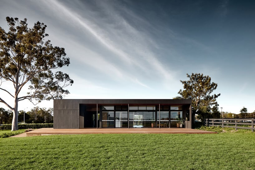 dairy farm those architects fy 7 - THOSE Architects Transformed Dairy Farm into Modern Sales Office