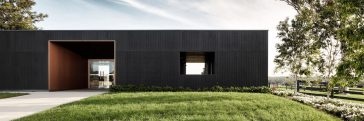 THOSE Architects Transformed Dairy Farm into Modern Sales Office -villa, gohome, architecture