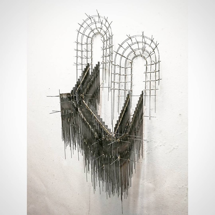 david moreno fy 10 - Spanish Artist Creates Suspended Staircase Sculptures That Look Like 3D Sketches