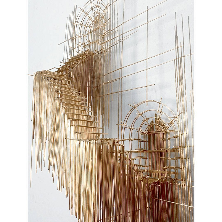 david moreno fy 16 - Spanish Artist Creates Suspended Staircase Sculptures That Look Like 3D Sketches